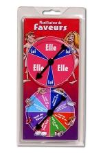 Planificateur de Faveurs - Le jeu pour ne jamais être en manque de petits plaisirs.