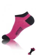 Chaussettes courtes  Jacquie & Michel - Paire de chaussettes Jacquie et Michel pour hommes, tige basse, 2 couleurs différentes.