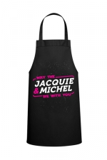 Tablier May the J&M be with you - Tablier  May the Jacquie & Michel be with you   pour pimenter vos réceptions entre amis.