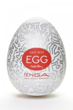 Tenga Egg party - Keith Haring - Masturbateur Tenga EGG Party , un sextoy collector avec design et texture exclusive.
