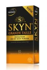 Préservatifs MANIX Skyn grande taille x10 - Premier préservatif en polyisoprène de grande taille, Pour ceux qui se sentent un peu à l'étroit dans le SKYN original.